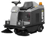 RIDE ON SWEEPERS  SWL R 1000 ET with front light system  swl r 1000 et with front light system